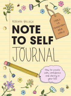 Note to Self Journal by Rebekah Ballagh
